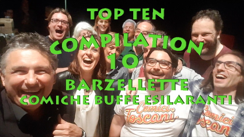 Alessandro Paci - Barzelletta Compilation top ten barzellette comiche